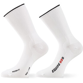 ASSOS RSR Chaussettes, holy white